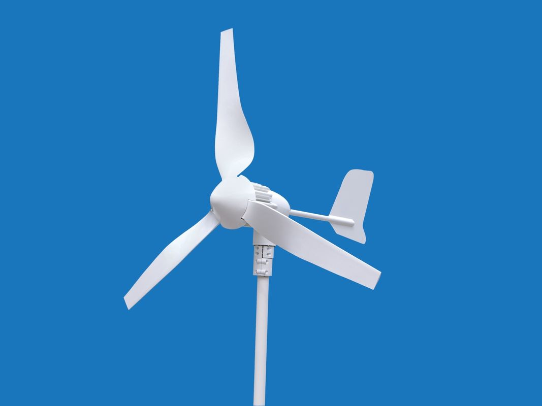 400W 3 Blades Wind Turbine Wind Generator With MPPT Off Grid Controller Smart Performance
